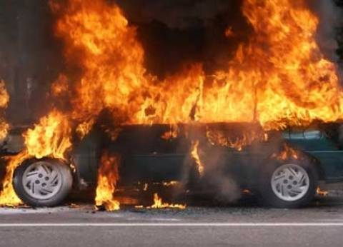 مسلحون يحرقون 4 سيارات تابعة للأهالي في وسط سيناء