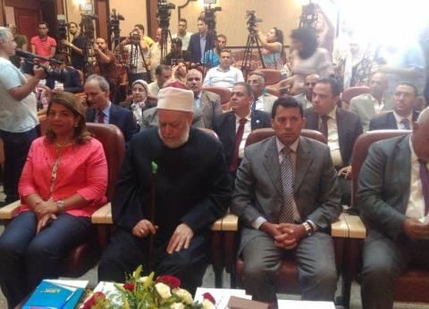 """علي جمعة: """"مصر الخير"""" شاركت في 120 حملة لتوعية الشباب بالأخلاق"""