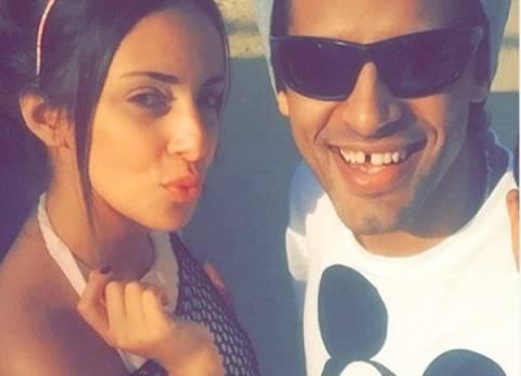 بالصور| حمدي الميرغني يحتفل بخطوبته على إسراء عبدالفتاح