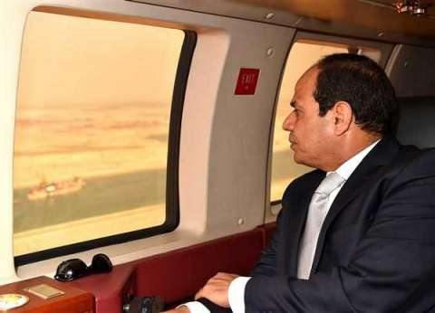 بث مباشر| السيسي يتفقد ميناء شرق بورسعيد