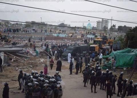 حبس 16 شخصا اعتدوا على 7 شرطيين في حملة إزالة بالشرقية