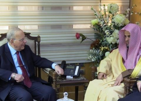 وزير العدل يستقبل النائب العام السعودي لبحث التعاون في المجال الجنائي