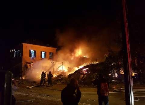 إصابة شخصين في حريق بمخزن بوتاجاز بالبحيرة