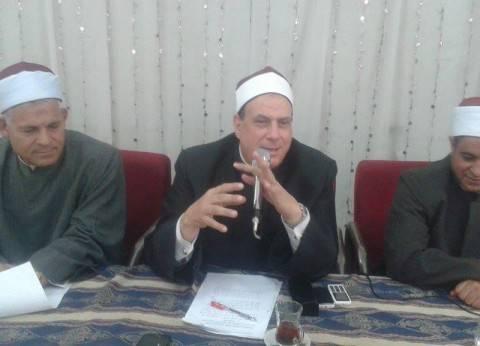 """""""أوقاف الشرقية"""": علينا التصدي لأي محاولة لاستغلال المساجد بالدعاية الانتخابية"""