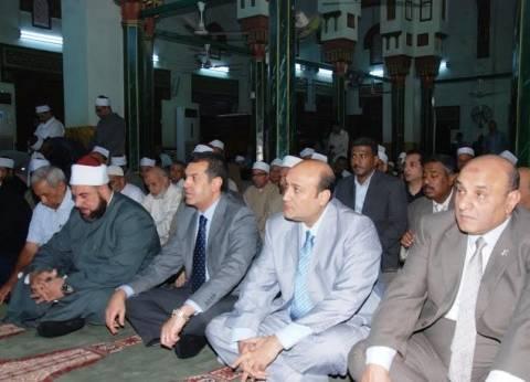"""محافظ أسيوط يشهد احتفال """"الأوقاف"""" بالعام الهجري الجديد بمسجد ناصر"""