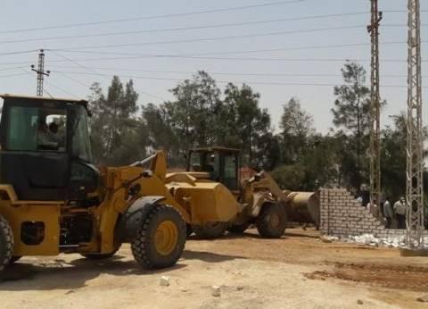 مديرية أمن قنا تسترد 1000 فدان و121 ألف متر مربع من أراضي الدولة