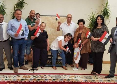المصريون في باريس يدلون بأصواتهم الانتخابية وسط أجواء احتفالية