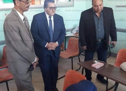 """""""رأس سدر التعليمية"""": 62 طالبا يؤدون امتحانات أولى ثانوي إلكترونيا"""
