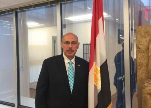 مندوب حملة السيسي بنيويورك: الانتخابات أعادت الروح للجالية المصرية