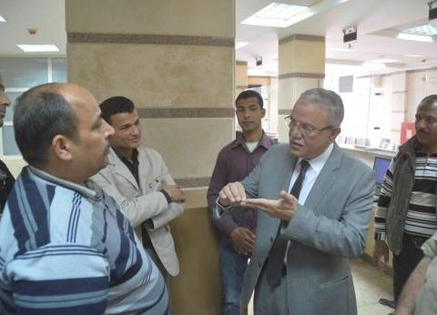 صرف مكافأة للقائمين على الخطة المالية بمجلس مدينة المنيا