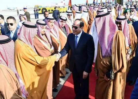 الملك سلمان: زيارتي لمصر استمرارا لمسيرة العلاقات المتميزة بين البلدين