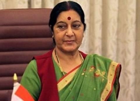 وزيرة خارجية الهند تصل إسلام آباد في أول زيارة لباكستان منذ 3 أعوام