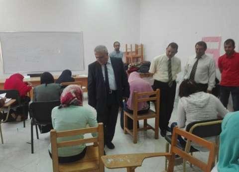 انتظام سير امتحانات الثانوية العامة بالبحر الأحمر