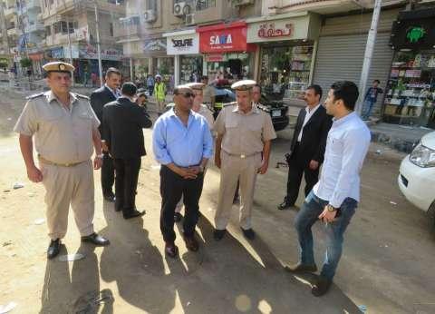 تحرير 804 مخالفات مرافق وإشغالات في الغربية