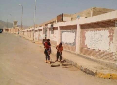 رئيس مدينة سفاجا يشدد على تجهيز احتياجات المدارس