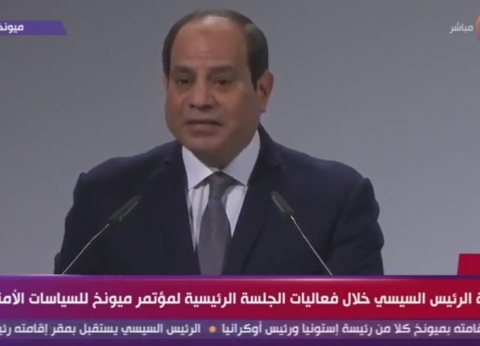 """آخرها """"ميونخ"""".. حل """"الأزمة الليبية"""" أبرز اهتمامات مصر بالمحافل الدولية"""