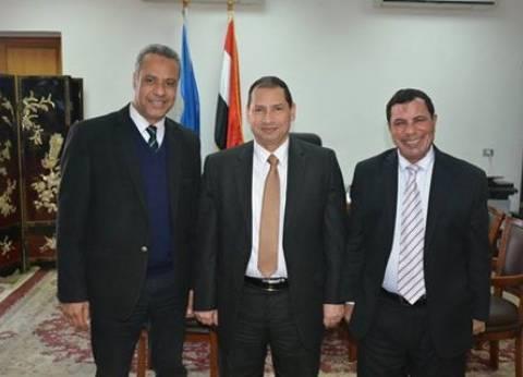 رئيس جامعة بورسعيد يستقبل رئيس إذاعة القناة