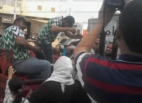 """""""مستقبل وطن"""" في كفر الشيخ يسير قافلة سلع بـ""""سيدي سالم"""" بتخفيضات 30%"""