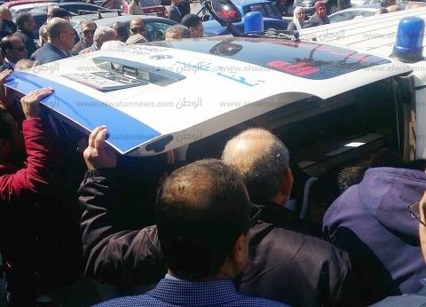 تشييع ضحية «روتاري» الثانية بحادث محطة مصر في الإسكندرية
