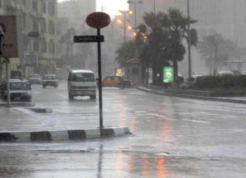 أمطار رعدية مصحوبة ببرق ورياح شديدة تضرب محافظة سوهاج