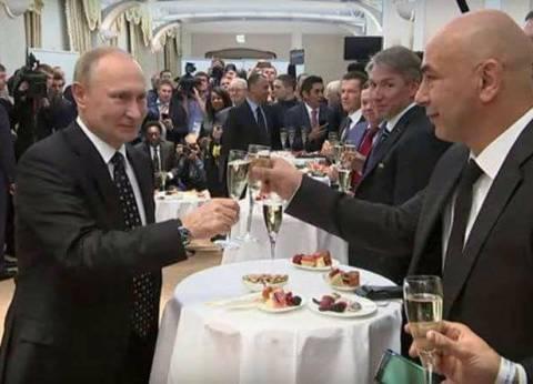 """حسام حسن: """"مسكت كاس الخمرة لتحية بوتين.. وقولت استغفر الله العظيم"""""""
