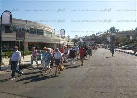 16% نسبه الإشغال السياحي في جنوب سيناء