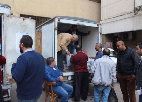 """""""صرف صحي القاهرة"""" توفر منافذ متحركة لبيع السلع للعاملين بأسعار مخفضة"""