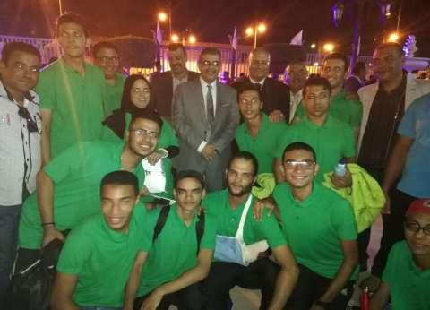 جامعة بنها تفوز بالمركز الثاني في أسبوع شباب المدن الجامعية