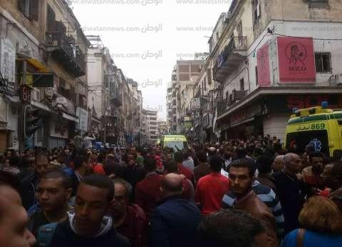 مشادات بين الأمن ومتظاهرين بمحيط الكاتدرائية بالإسكندرية