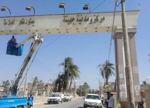 حملة نظافة بشوارع جهينة بسوهاج