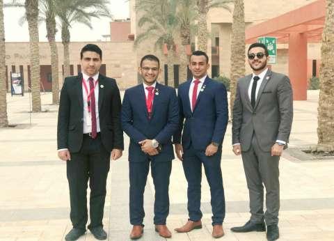 تكريم طلاب بنها الفائزين في نموذج مُحاكاة الحكومة المصرية