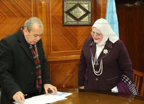 محافظ كفر الشيخ يبحث استعدادات امتحانات الإعدادية وتأمين الكنترولات