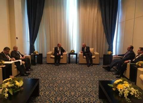 """أبو الغيط يبحث مع وزير خارجية الأردن أعمال """"العربية ـ الأوروبية"""""""