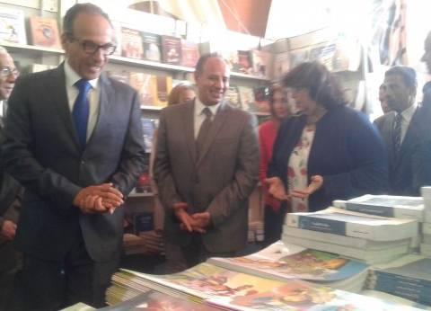 موجز الثالثة عصرا: وزيرة الثقافة تفتتح معرض الإسكندرية للكتاب