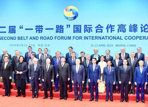 """السيسي: """"الحزام والطريق"""" تتيح فرصا إيجابية أمام الاقتصادات الناشئة"""