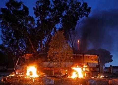 بالفيديو| الاحتلال يعلن التحقيقات الأولية في حادث استهداف حافلة بصاروخ