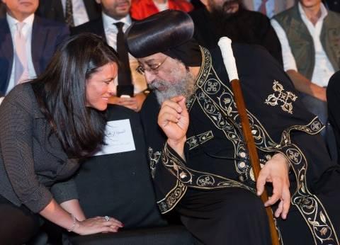 بالصور| وزيرة السياحة: مسار العائلة المقدسة يحمل قيمة روحانية للمصريين