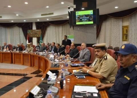محافظ المنيا: الدولة حريصة على بناء قاعدة معلومات جغرافية للطوارئ