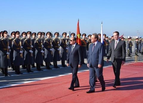 «السيسى» أول رئيس أجنبى يُلقى كلمة أمام المجلس الفيدرالى الروسى.. ويلتقى «بوتين» الأربعاء