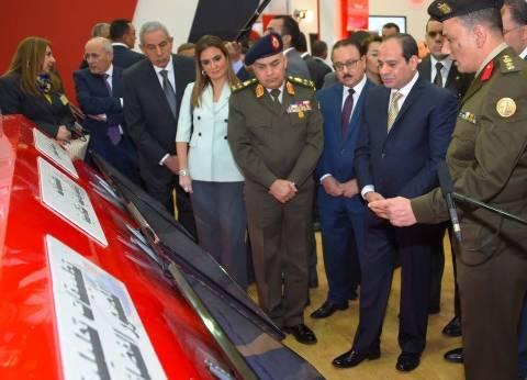 «السيسى» يفتتح معرض القاهرة الدولى للاتصالات.. ويطلق إشارة البدء لتنفيذ «مدينة المعرفة» بالعاصمة الإدارية