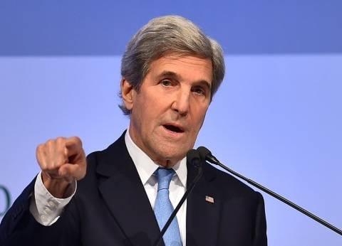 """كيري: إدارة """"أوباما"""" التزمت بأمن إسرائيل.. وحل الدولتين هو طريق السلام"""