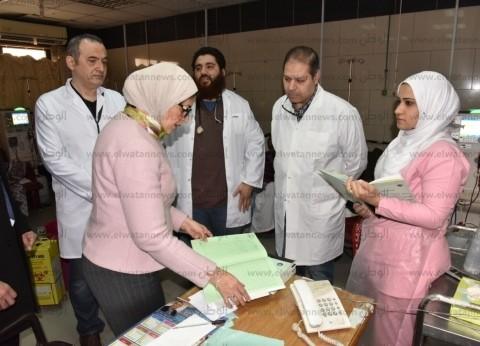 """هالة زايد: إجراء مسح فيروس """"سي"""" لـ25 مليون مواطن في """"100 مليون صحة"""""""