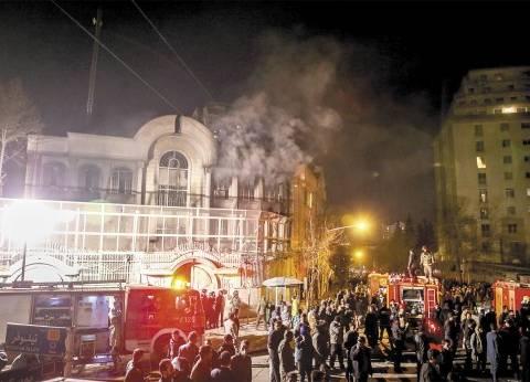 عاجل| مؤتمر صحفي للخارجية السعودية بشأن اقتحام السفارة بطهران والقنصلية في مدينة مشهد بإيران