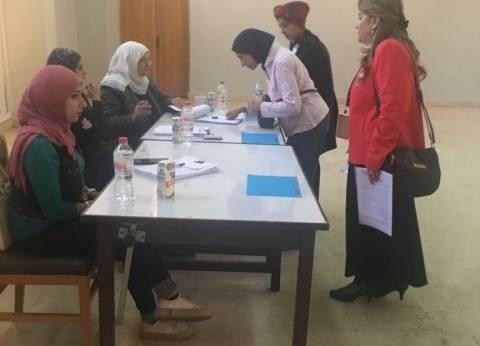عمداء كليات جامعة حلوان يدلون بأصواتهم في انتخابات رئاسة الجمهورية