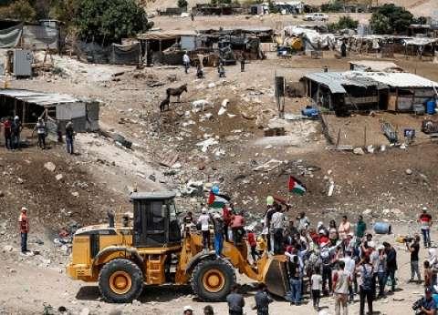 """فلسطين تدين قرار محكمة إسرائيلية بهدم تجمع """"الخان الأحمر"""""""