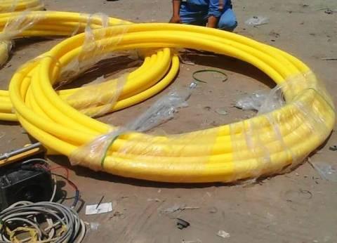 محافظ الشرقية يتفقد توصيل الغاز بمركز ههيا