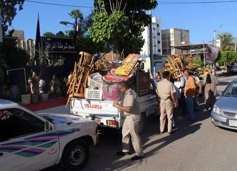 بريد الوطن| مطلوب تحرير شوارع دمياط من الإشغالات