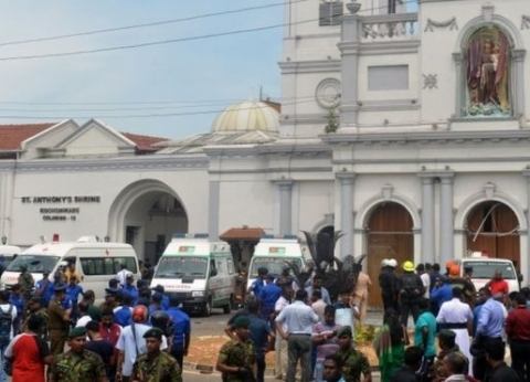 """دول العالم تدين تفجيرات سريلانكا.. وتصفها بـ""""الجبانة والمدمرة"""""""