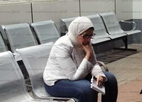 صور.. الحزن يسيطر على وزيرة الصحة قبل الإعلان عن ضحايا quotمعهد الأورامquot