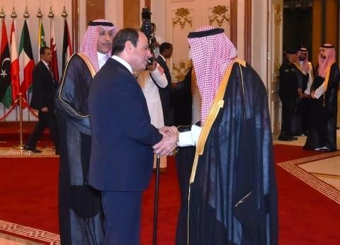 السيسي يلتقي الملك سلمان على هامش القمة الإسلامية بمكة